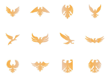 Eagle Seal Symbol - Free vector #433293