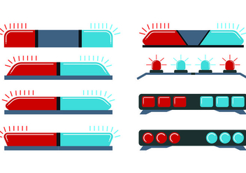 Icon Of Police Lights - vector #433523 gratis