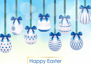 Decorative Of Easter Egg - Free vector #433753