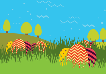 Easter Background - vector gratuit #433803