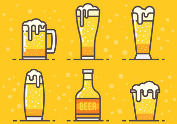 Free Cerveja Vector Icons - Kostenloses vector #434043