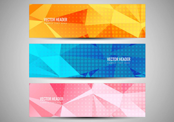 Free Vector Colorful Banners Set - Kostenloses vector #434073
