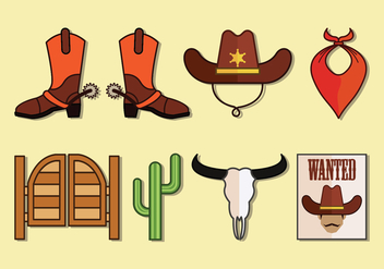 Gaucho Vector Icons Collection - Kostenloses vector #434673