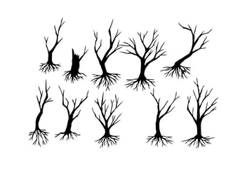 Free Tree Silhouette Vector - Free vector #435043