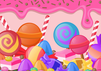 Sweet Candy - vector gratuit #435223