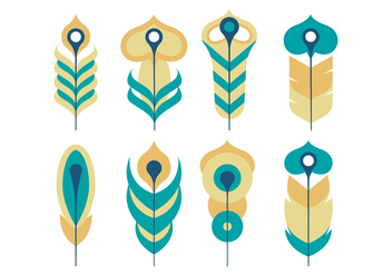 Feather Vector Collection - Free vector #435283
