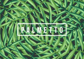 Palmetto Background - Free vector #435293