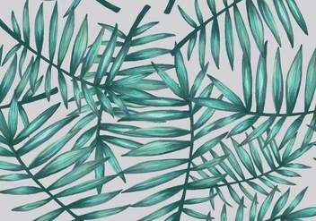 Palmetto Seamless Pattern Vector - бесплатный vector #435473