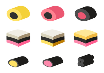 Licorice Vector Set - Free vector #435933