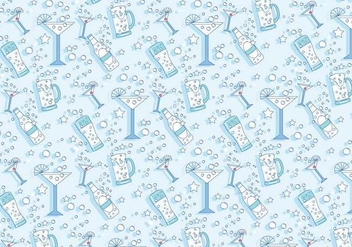 Pop Fizz Clink Pattern Vector - бесплатный vector #435973