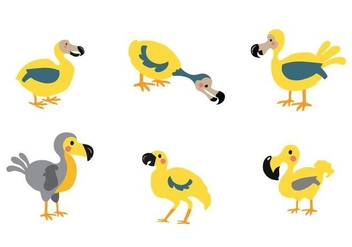 Free Animal Dodo Bird Vector - Free vector #436033
