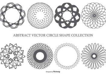 Abstract Circle Shapes - Free vector #436303