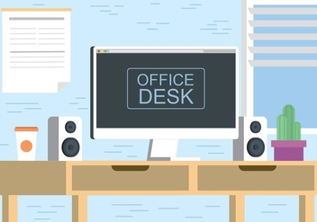 Free Vector Desktop Illustration - Free vector #436373