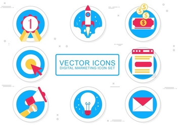 Free Vector Media Icon Design Set - vector gratuit #436383