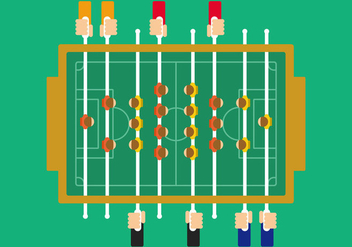 Table Soccer Illustration - Kostenloses vector #436793