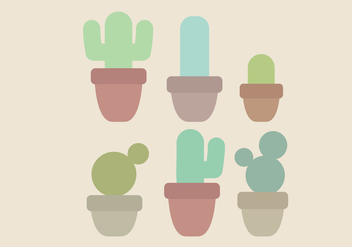 Vector Minimal Cacti Set - бесплатный vector #436863