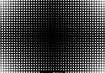 Halftone Squares Background Vector Illustration - Free vector #437073