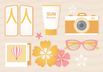 Free Summer Vector Illustration - Kostenloses vector #437213