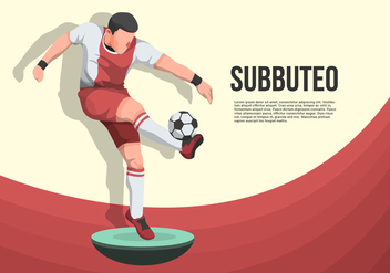 Subbuteo Vector Background Illustration - Kostenloses vector #437283