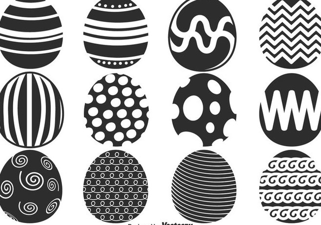 Vector Easter Eggs For Spring Season - vector gratuit #437673