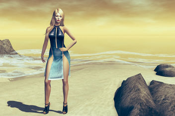Viper dress by United Colors @ Cosmopolitan - бесплатный image #437763
