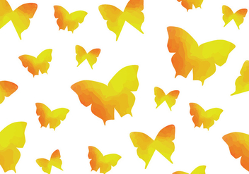 Watercolour Butterfly Seamless Pattern - Kostenloses vector #437833