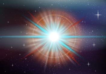 Supernova Space - Free vector #438073