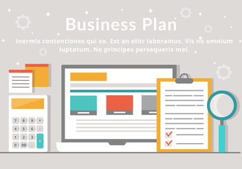 Free Business Plan Vector Elements - Kostenloses vector #439653