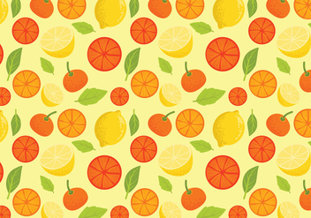 Free Citric Pattern Vectors - Free vector #439783