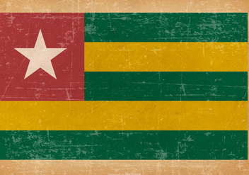 Grunge Flag of Togo - Free vector #439943
