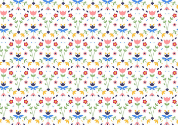 Floral Pattern Illustration - Kostenloses vector #440033