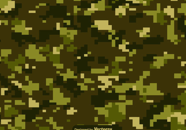 Vector Digital Multicam Pattern - vector gratuit #440303
