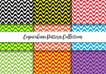 Copacabana Pattern - бесплатный vector #440533