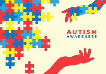 Autism Awarness Free Vector - Free vector #440553