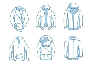 Free Unique Windbreaker Vectors - vector gratuit #440763