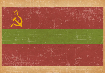 Grunge Flag of Transnistria - бесплатный vector #440833