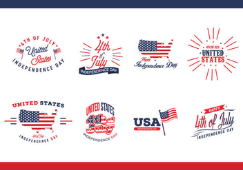 Independence Day USA Vector - vector #440873 gratis