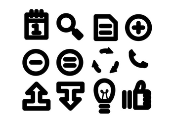 Flat Multimedia Icons Vector - Free vector #441453