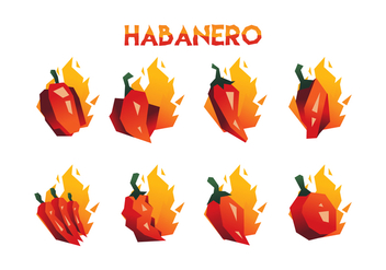 Free Habanero Vector Collection - Free vector #441643