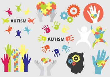 Autism Pack - Free vector #441663