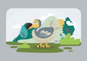 Dodo Illustration - vector #441983 gratis