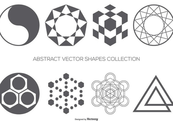 Abstract Vector Shapes Collection - Free vector #442233