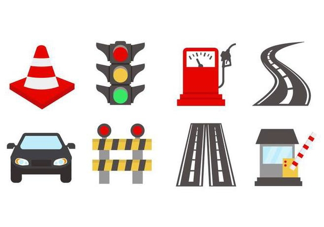 Free Road Trafiic Vector - Free vector #442273