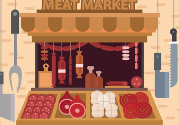 Charcuterie Vector - Free vector #442283