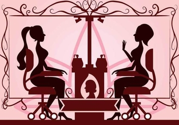 Beauty clinic vector illustration - Free vector #442603