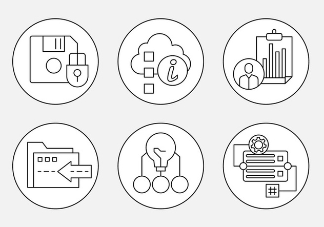 Free Thin Line Web Icons - vector gratuit #442683