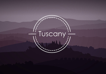 Tuscany Background Free Vector - бесплатный vector #442783