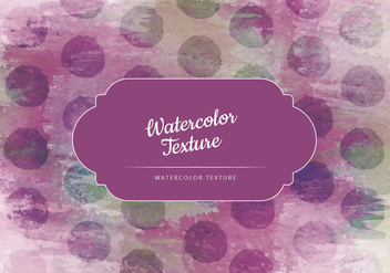 Vector Watercolor Dotted Texture - Free vector #442943
