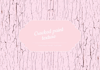 Vector Cracked Paint Texture - vector gratuit #443643