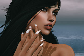 Overlay mesh Nail by SlackGirl @ The Makeover Room - image #443733 gratis